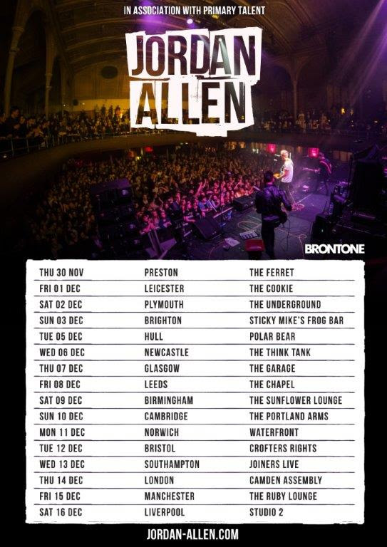 Jordan Allen [gig promo]